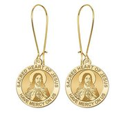 Sacred Heart of Jesus Earrings  EXCLUSIVE