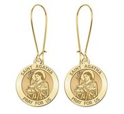 Saint Agatha Earrings  EXCLUSIVE