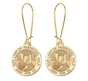 Our Lady of Perpetual Help Earrings  EXCLUSIVE