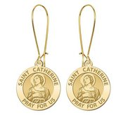 Saint Catherine of Alexandria Earrings  EXCLUSIVE