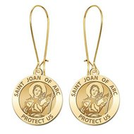 Saint Joan of Arc Earrings  EXCLUSIVE