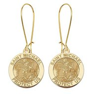Saint Michael Earrings  EXCLUSIVE