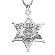 Personalized Sheriff Badge