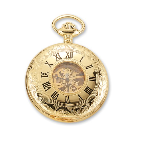Charles Hubert Goldtone Pocket Watch