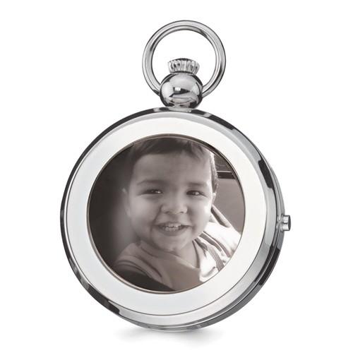 Charles Hubert Photo Pocket Watch