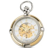 Charles Hubert Open Faced Two Tone Pocket Watch