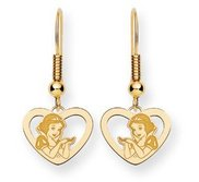 Disney Snow White Shepherd Hooks Earrings