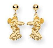 Disney Mickey Mouse Dangle Post Earrings