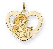 Disney Snow White Heart Charm