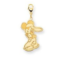 Disney Mickey Lobster Clasp Charm
