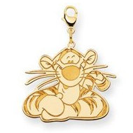 Disney Tigger Lobster Clasp Charm