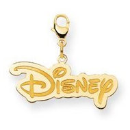 Disney Large Lobster Clasp Logo Charm