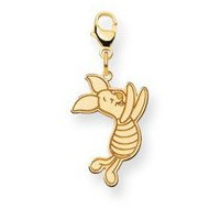 Disney Piglet Lobster Clasp Medium Charm