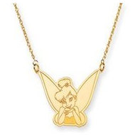 Disney 18 Inch Tinker Bell Necklace