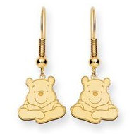 Disney Winnie the Pooh Shepherd Hooks Earrings
