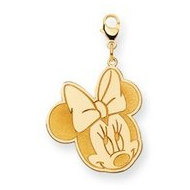 Disney Minnie Mouse Lobster Clasp Large Charm