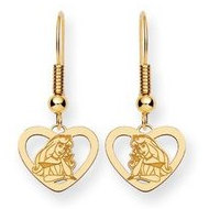 Disney Princess Aurora Shepherd Hook Earrings