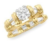 DIAMOND MATCHING BAND
