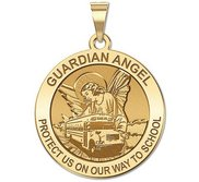 Guardian Angel  Protect My Child   School Bus Religious Medal  EXCLUSIVE