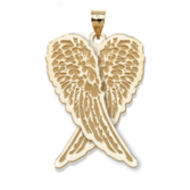 "Guardian Angel Folded Wings Medal  ""EXCLUSIVE"""