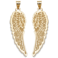 Guardian Angel Pair of  Wings Medals   EXCLUSIVE