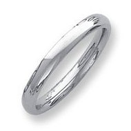 Palladium Heavy Weight 3mm Comfort Fit Wedding Band