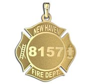Personalized New Haven Fire Department Badge