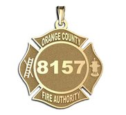 Personalized Orange County Fire Authority Badge