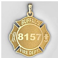 Personalized Buffalo Fire Department Badge
