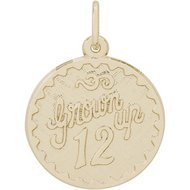 GROWN UP 12 ENGRAVABLE
