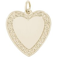 HEART ENGRAVABLE