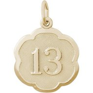 NUMBER 13 ENGRAVABLE