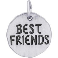 BEST FRIENDS CHARM TAG ENGRAVABLE