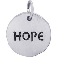 HOPE CHARM TAG ENGRAVABLE