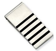 Stainless Steel Engravable Money Clip