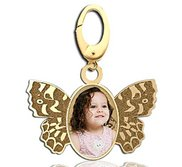 Butterfly Photo Charm For Bracelet