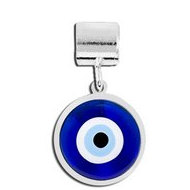Round Evil Eye Color Charm