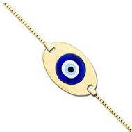 Evil Eye Color Anklet