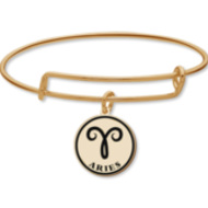 Aries Symbol Outline Charm or Pendant