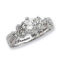 Sterling Silver Promise Ring