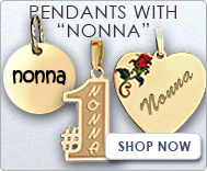 Pendants with  Nonna