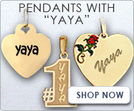 Pendants with  Yaya