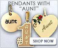 Pendants with  Aunt