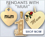 Pendants with  Mum