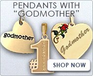 Pendants with  Godmother