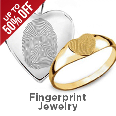 Fingerprint Jewelry Sale