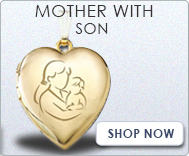Mother with Son Locket