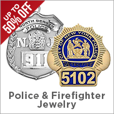 Police   Firefighter Jewelry Sale