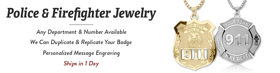 Support our police charity badges for Jewelry that supports a charity