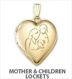 mom and children lockets